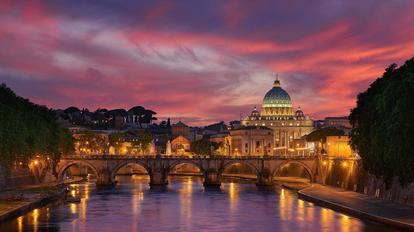 Вечерний Рим