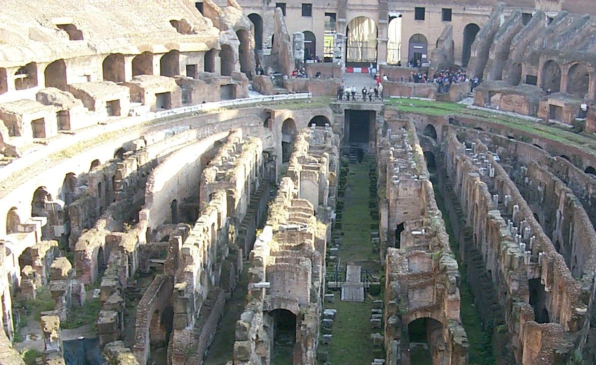 Капитальная реставрация подземелий Колизея обойдется в 3,5 миллиона евро!